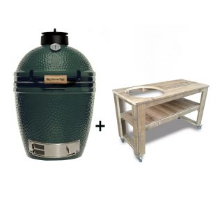 Big-Green-Egg-Medium-steigerhouten-tafel