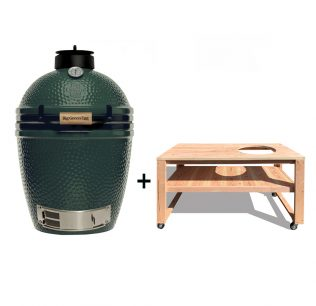Big-Green-Egg-Medium-met-douglas-tafel