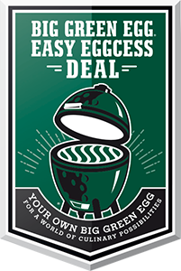 BBQ Green Egg Store Easy Eggcess Deal