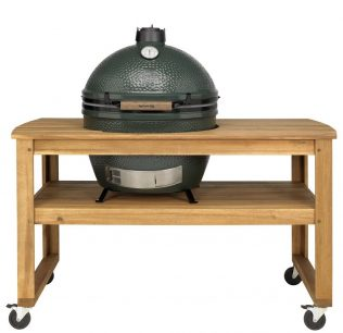 Big Green Egg XL met Acacia tafel
