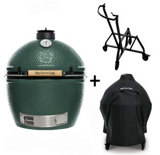 Big Green Egg XL met integrated nest en handler
