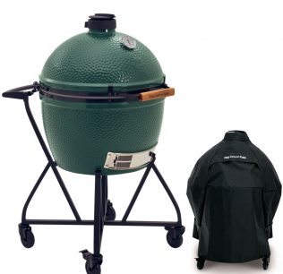 Big Green Egg XL met integrated nest en handler en afdekhoes