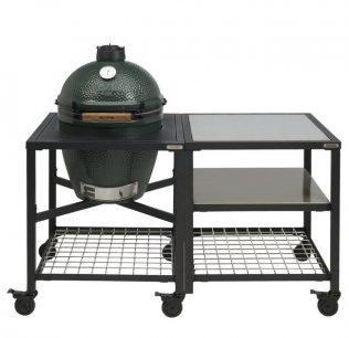 Big Green Egg Large met modulair tafelsysteem workspace SET3