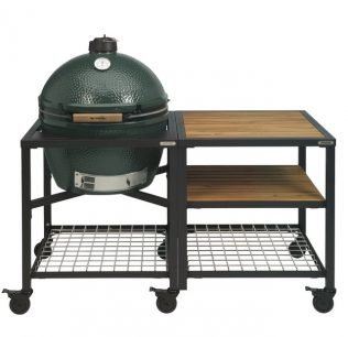 Big Green Egg XL met modulair tafelsysteem workspace SET2