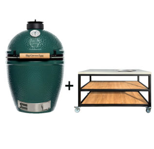 Big-Green-Egg-Large-met-tafelkast-oak-steel-classic.